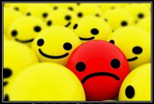 thinking negatively